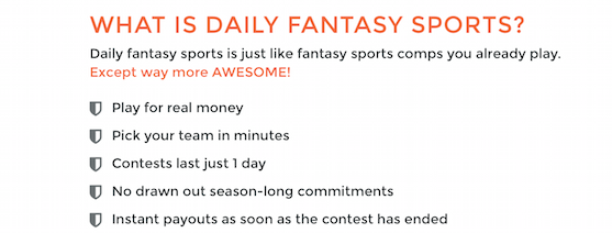 What is Daily Fantasy DFS