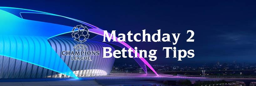 UCL Matchday 2 Betting Tips