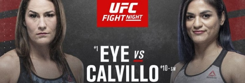 UFC Fight Night: Eye vs Calvillo Preview & Betting Tips