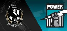 AFL Round 18 Magpies vs Power Betting Tips