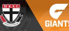 AFL Round 18 Saints vs Giants Betting Tips