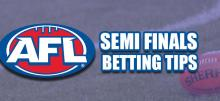 AFL Semi Finals Betting Tips
