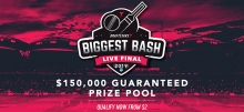 Draftstars Announces $150,000 'Biggest Bash' BBL08 Live Final Event