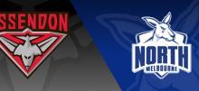 AFL North Melbourne vs Essendon Betting Tips