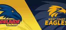 AFL Crows vs Eagles Betting Tips