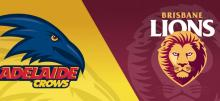 AFL Crows vs Lions Betting Tips