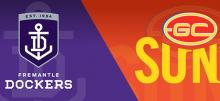 AFL Dockers vs Suns Betting Tips