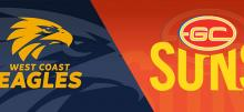 AFL Eagles vs Suns Betting Tips