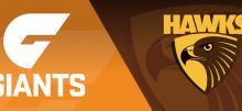 AFL Giants vs Hawks Betting Tips