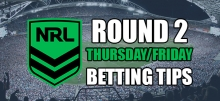 2020 NRL: Round 2 Thursday/Friday Preview & Betting Tips