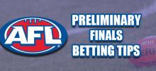 AFL Preliminary Final Betting Tips