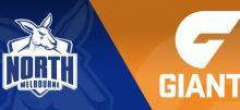 AFL Kangaroos vs Giants Betting Tips