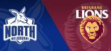 AFL Kangaroos vs Lions Betting Tips