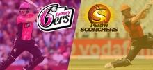 Big Bash League (BBL09): Sixers vs Scorchers Betting Tips