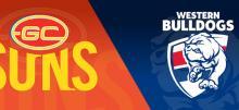 AFL Suns vs Bulldogs Betting Tips
