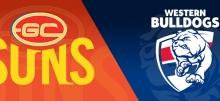 AFL Round 8 Suns vs Bulldogs