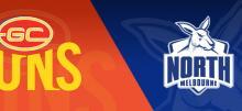 AFL Suns vs Kangaroos Betting Tips
