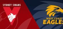 AFL Round 16 Swans vs Eagles