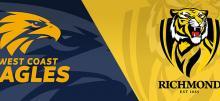 AFL Tigers vs Eagles Betting Tips