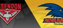 AFL Bombers vs Crows Betting Tips