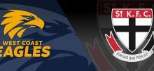AFL Eagles vs Saints Betting Tips